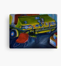 The old Hef  Canvas Print