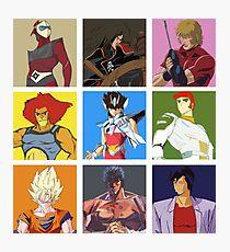 80's heroes Photographic Print