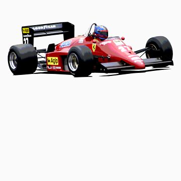 Ferrari 156/85 F1 by inmotionphotog