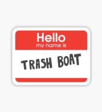 Regular Show: Trash Boat Sticker