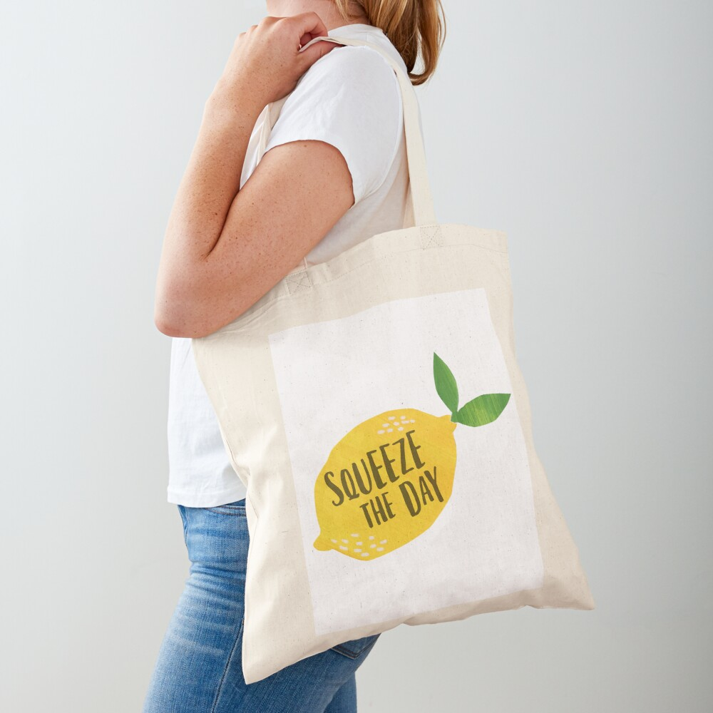 Squeeze the Day Tote Bag