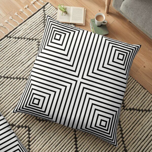 Psychedelic art, Art movement Floor Pillow