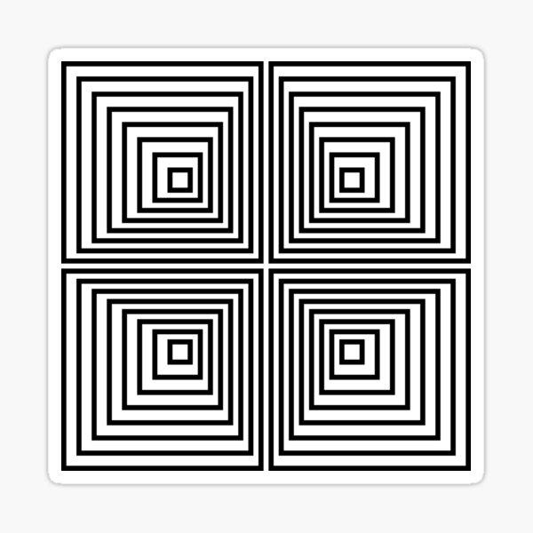 Psychedelic art, Art movement Glossy Sticker