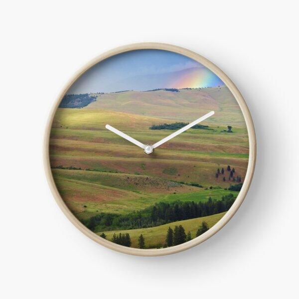 Storm on Irvine Flats Clock