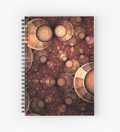 Crippled Sphere of Life Spiral Notebook
