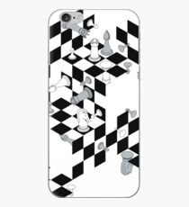 M.C. Escher vs. Marcel Duchamp iPhone Case