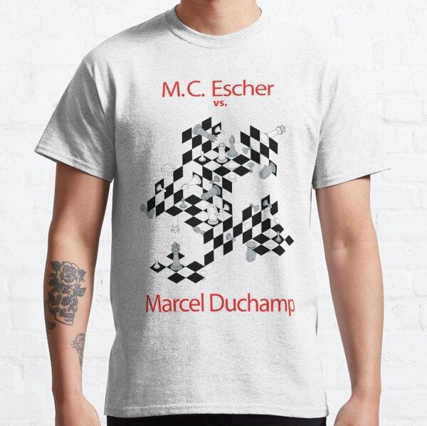 M.C. Escher vs. Marcel Duchamp Classic T-Shirt