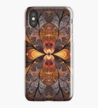 Autumn Stained Glass iPhone Case
