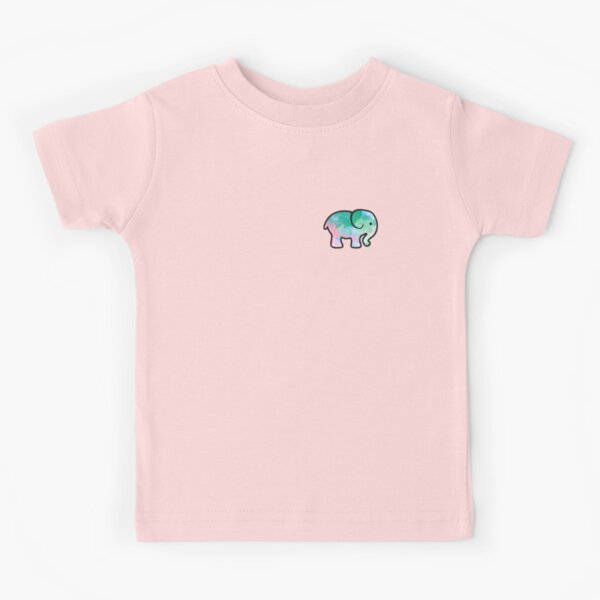 watercolor elephant design Kids T-Shirt