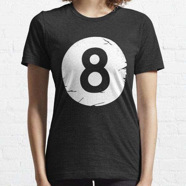 8 BALL BILLIARDS POOL EIGHT-BALL  Essential T-Shirt