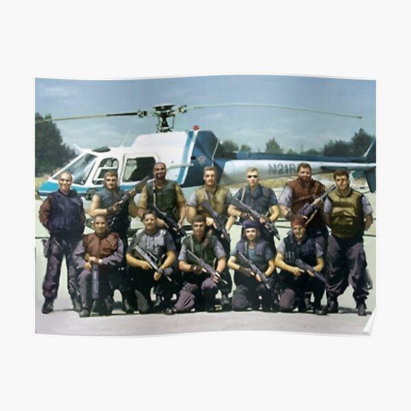 S.T.A.R.S. Alpha Team / Resident Evil / Biohazard  Poster