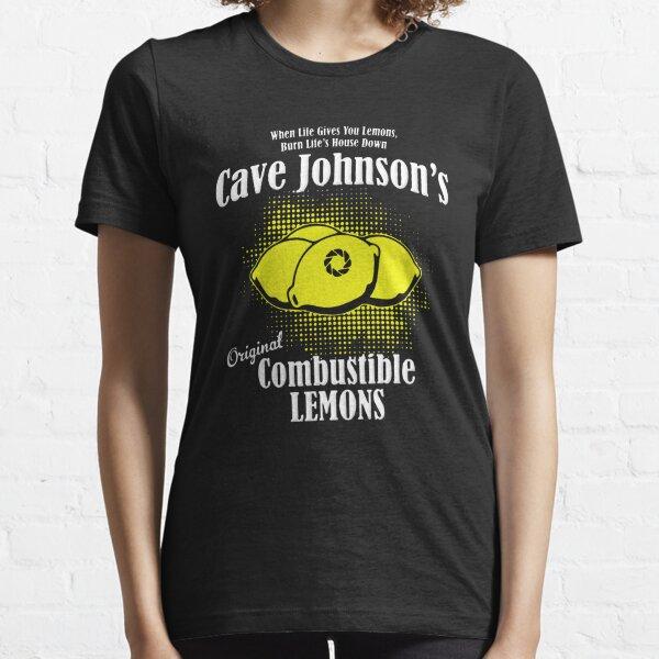 Combustible lemon Cave Johnson Essential T-Shirt