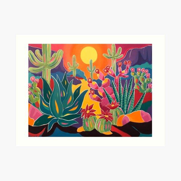 Los Colores Art Print