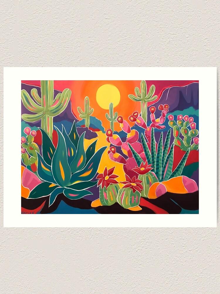 Alternate view of Los Colores Art Print
