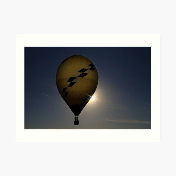 A Man and His Balloon Art Print
