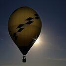 A Man and His Balloon by Christine Annas