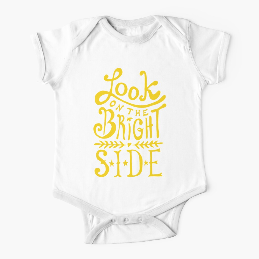 Look On The Bright Side Baby One-Piece
