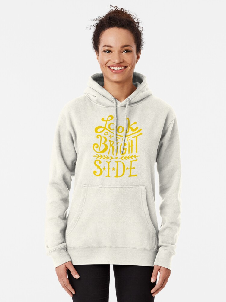 Alternate view of Look On The Bright Side Pullover Hoodie