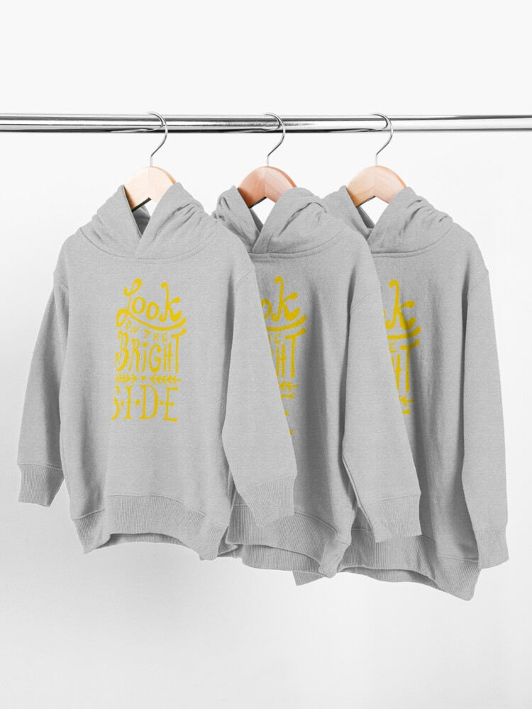 Alternate view of Look On The Bright Side Toddler Pullover Hoodie