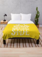 Look On The Bright Side Throw Blanket