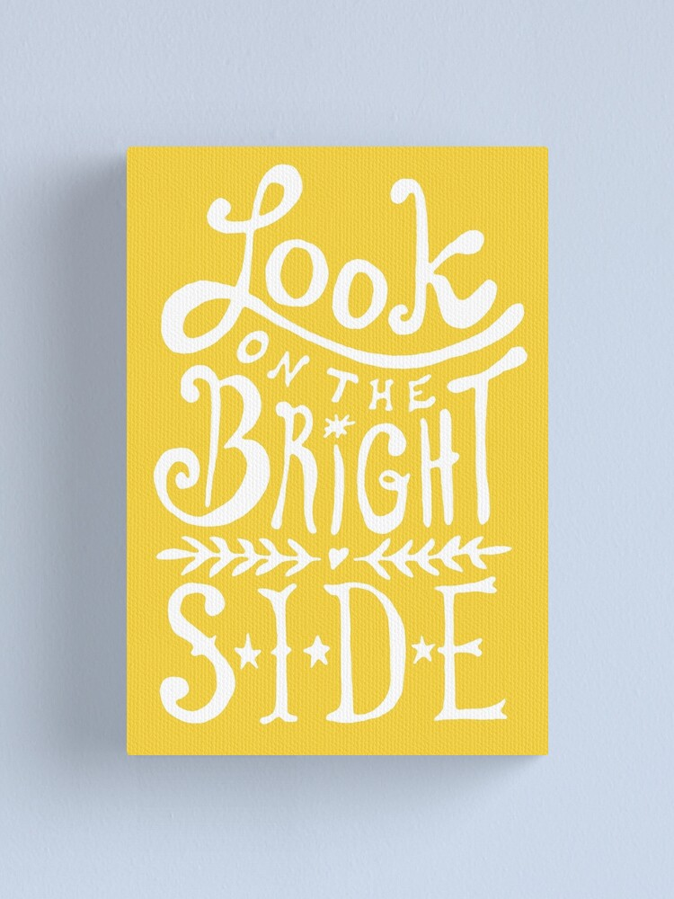 Alternate view of Look On The Bright Side Canvas Print