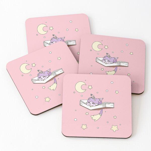 Sleepy Yuumi Coasters (Set of 4)
