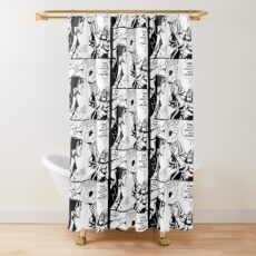 Dr. Doom Toots Shower Curtain