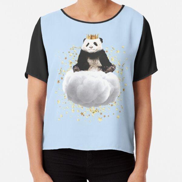 Panda cloud with the stars Chiffon Top