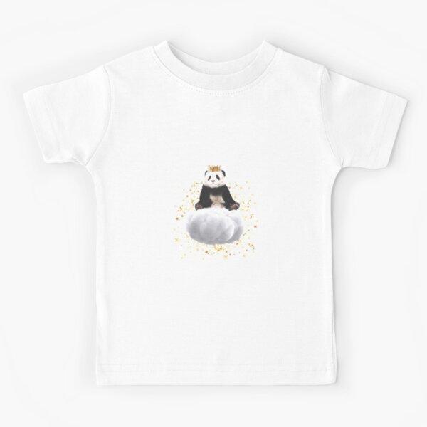 Panda cloud with the stars Kids T-Shirt
