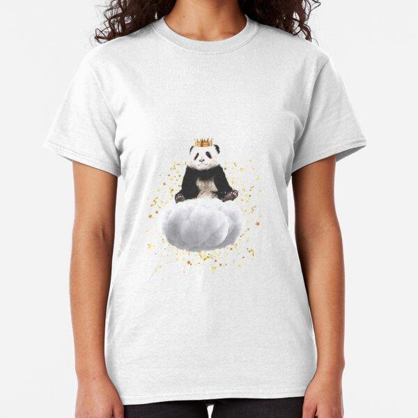 Panda cloud with the stars Classic T-Shirt