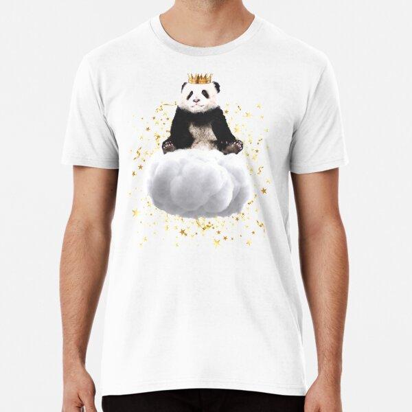 Panda cloud with the stars Premium T-Shirt