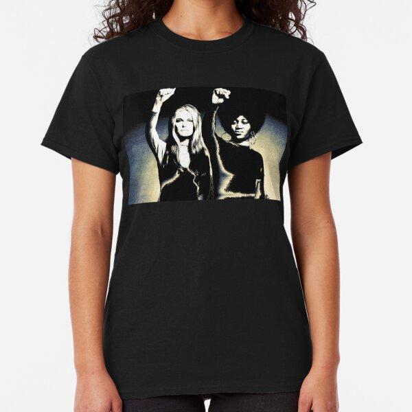 Gloria Steinem and Dorothy Pitman-Hughes, 1972  Classic T-Shirt
