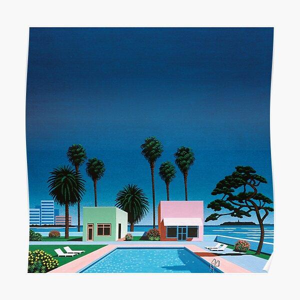 Hiroshi Nagai Art Print Poster Vaporwave Shirt Wallpaper Poster
