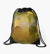 Oleo Green Drawstring Bag