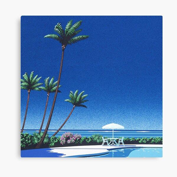 Hiroshi Nagai Vaporwave Shirt Poster Wallpaper Canvas Print