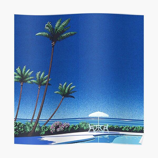 Affiche de chemise de Vaporwave de Hiroshi Nagai Poster