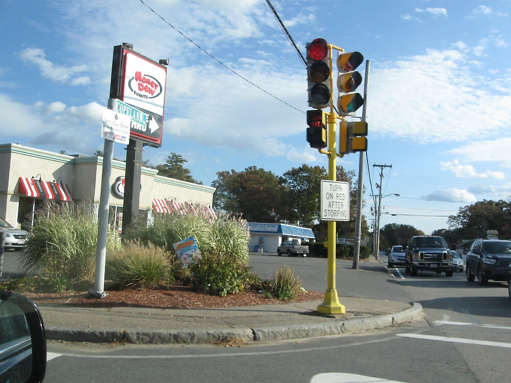 One Poled 2 Direction Traffic Light with 2 Direction pedestrian crosswalk light Part 3 by Eric Sanford