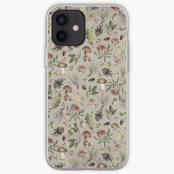 Sweet Autumn Pattern iPhone Soft Case