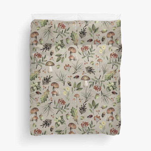 Sweet Autumn Pattern Duvet Cover
