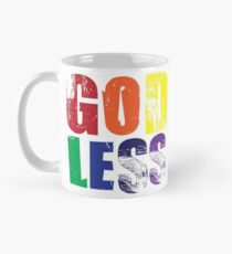 Rainbow Godless Classic Mug