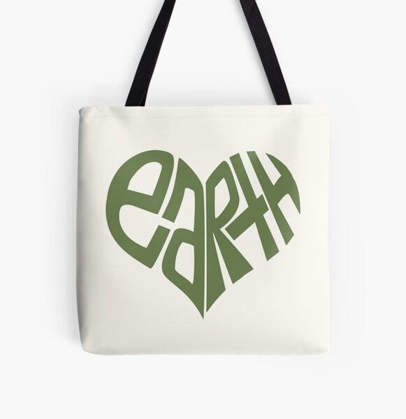 Love The Earth. All Over Print Tote Bag