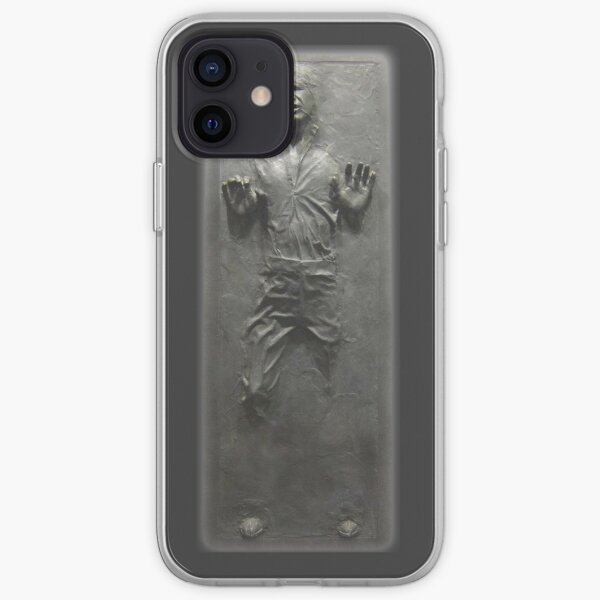 Han Solo Frozen in Carbonite  iPhone Soft Case