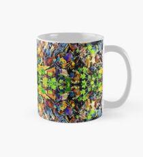 Exploding Green Forest Floor Classic Mug