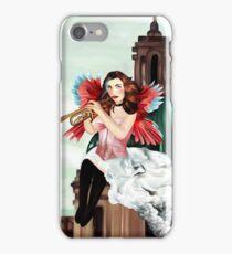 Angel of judgement  iPhone Case/Skin
