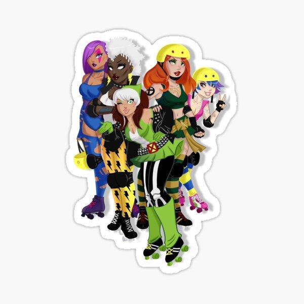 The Uncanny Derby Girls Sticker