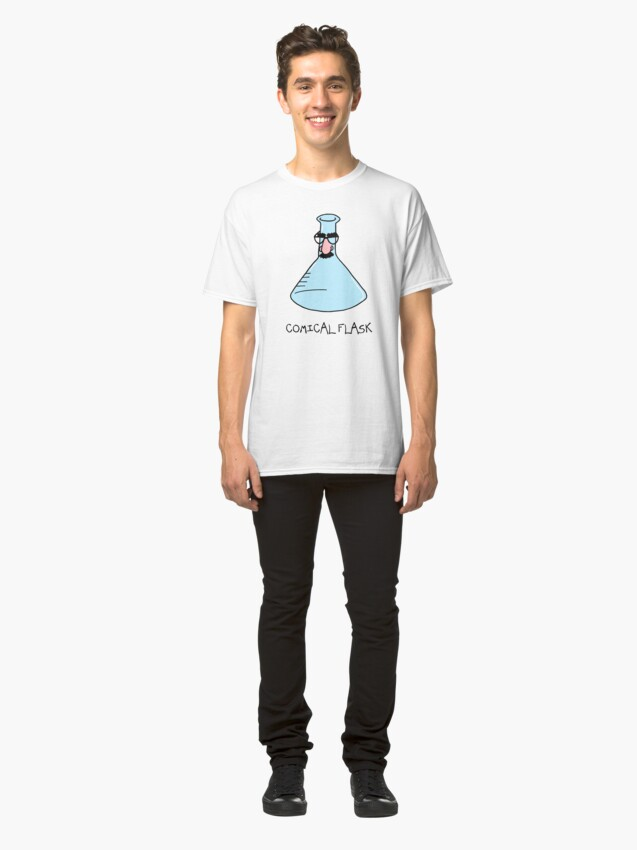 Alternate view of Comical Flask Classic T-Shirt