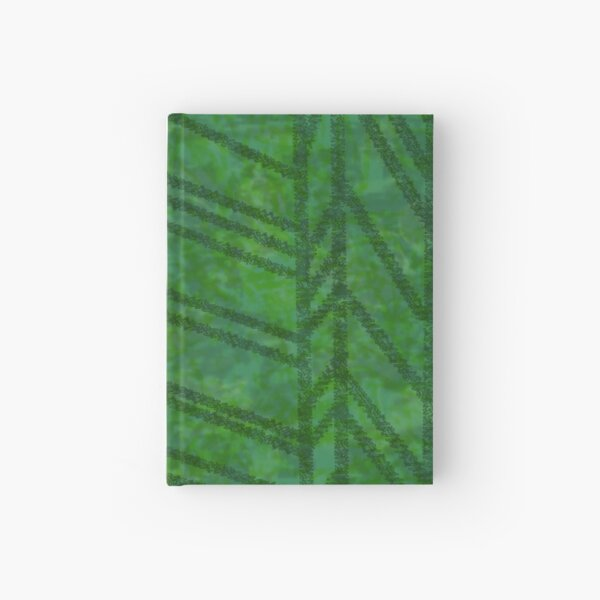 Leaf pattern Hardcover Journal