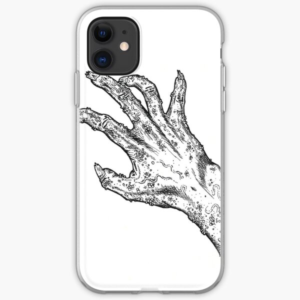 Zombie hand iPhone Soft Case