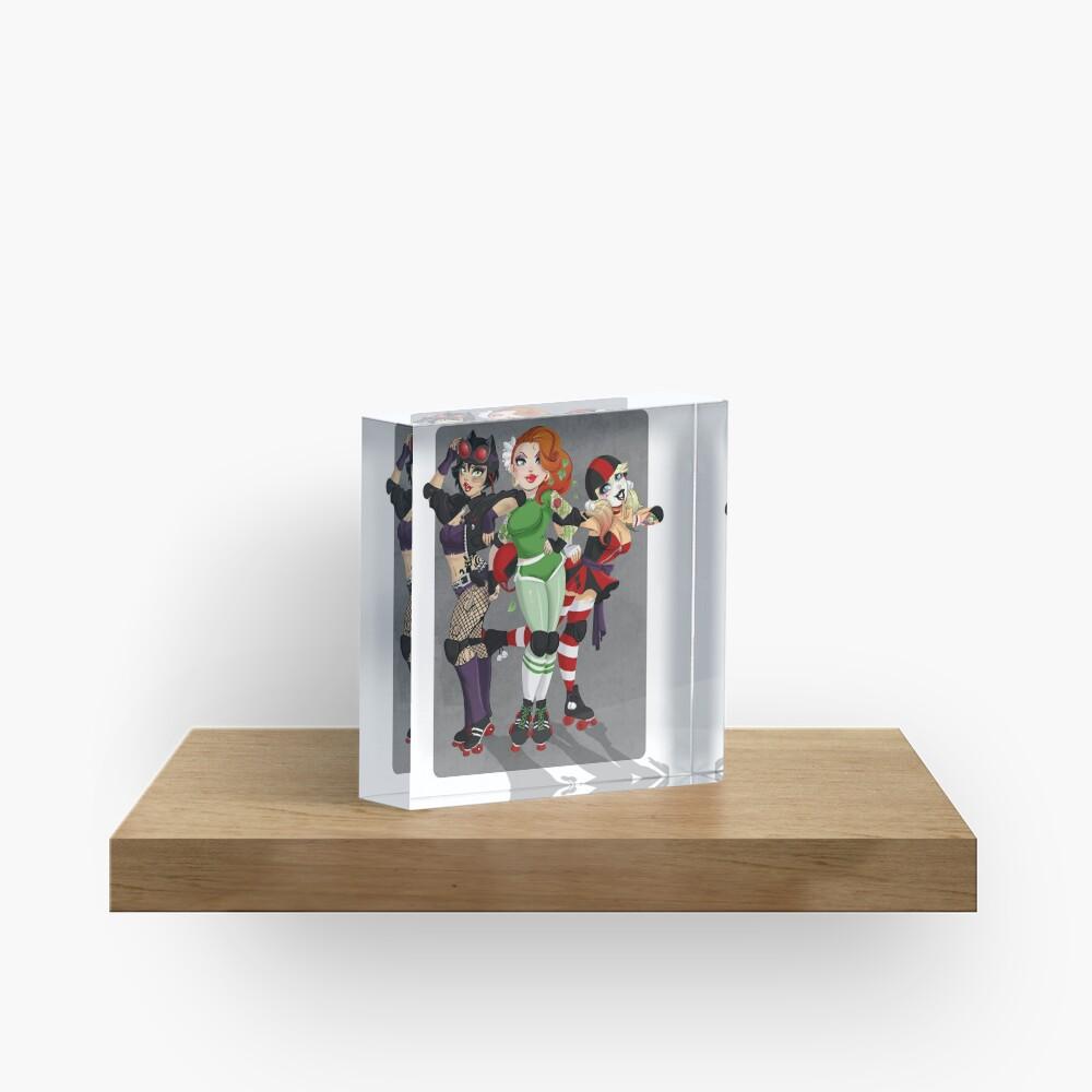Derby Villains Acrylic Block