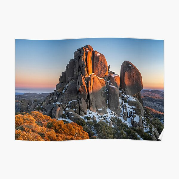 The Cathedral at Mt Buffalo Poster